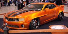 Atomic Orange Camaro Custom Z28