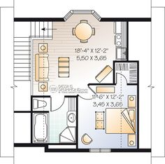 house_plan_maison_Chalet_cottage_Etage_W3932