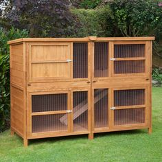 Our Rabbit Hutches Offer A Safe & Comfortable Place For Your Bunny Buddy. We Offer Single & Double Tier Hutches To Ensure Your Pets Get The Best Hutch. Double Rabbit Hutch, Rabbit Hutch Plans, Rabbit Hutches, Guinea Pig Hutch, Bunny Hutch, Guinea Pigs, Large Rabbit Breeds, Large Rabbits, Rabbit Shed