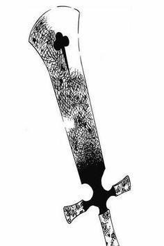 Anime Demon, Anime Manga, Anime Art, Anime Weapons, Fantasy Weapons, Gaming Wallpapers, Animes Wallpapers, Espada Anime, Black Clover Manga