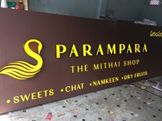 #Ledsignage for Parampara Sweet Shop (Mithai shop) located @Anjiah Nagar, #Gachibowli, #Hyderabad. #ledsings #signboards  #raghudigitals #madhapur #kondapur #miyapur #signs #signage #parampara #sweetshops #sweets #mithaishop #anjiahnagar  http://raghudigitals.com/