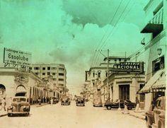 Av 20 de Julio por los años 1950