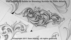 drawing scrolls