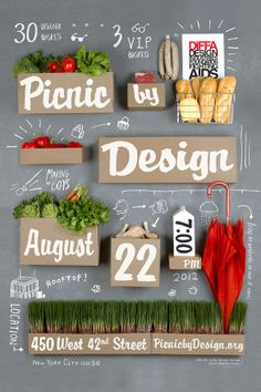 Picnic by Design // Poster by Input Creative Studio