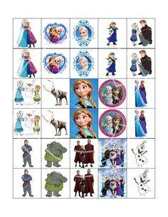 NEW Disney Frozen Picture Matching Game Birthday by TahDahStudio
