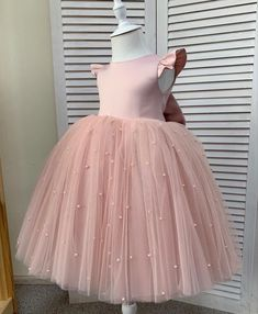 Baby Girl Party Dresses, Birthday Dresses, Gowns For Girls, Girls Dresses, Tulle Dress, Dress Up, Little Girl Swag, Baby Frocks Designs, Princess Outfits