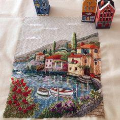 @berrin_sengoz  #embroidery #embroideryart #embroiderydesign #вышивка