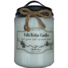 FallsBridgeCandles First Snow Jar Candle Size: