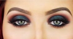 What a fab eye makeup look .. I personally love the emerald smokey look .. great for going out .. a fab tutorial to follow to get this stunning look x Click the link below to see this fab tutorial by Jaclyn Hill