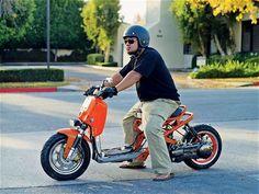 Honda Ruckus Orange Ruckus