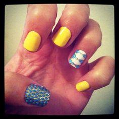 Summertime nails :)