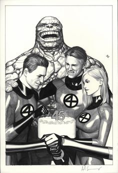 Fantastic Four by Adi Granov