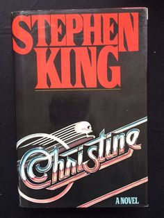 Stephen King Christine First Edition