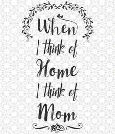 Love Mom Quotes Gorgeous Mom Quote Chalkboard Wall Art Print The Perfect Mothers Day Gift Or