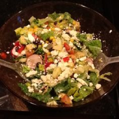 My Mexican Chopped Salad, 02-29-12