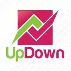 Exclusive Customizable Arrows Logo For Sale: Up Down | StockLogos.com