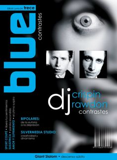 Portada Revista Blue Concept • Contrastes