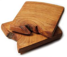 Juniper cutting boards from the Santa Fe School of Cooking - just lovely!