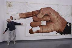 Kent Twitchell, Michael Jackson's Hand