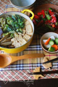 Photo: Japanese Tofu Hot Pot, Healthy Dinner for Vegan (Macrobiotic)