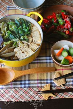 Japanese Tofu Hot Pot, Healthy Dinner for Vegan (Macrobiotic)