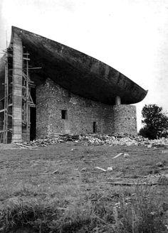 La chapelle Notre-Dame-du-Haut à Ronchamp