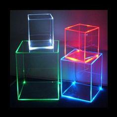 acrylic lit furniture - Google Search
