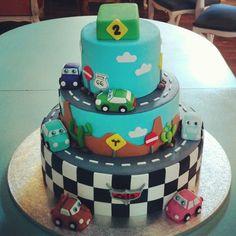 #Cars#cake#birthday#kids (en La Pequeña Pastelería de Mamá)