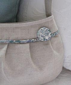 Petite Sage Liberty Bag by stitch248 on Etsy, $30.00