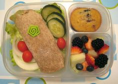 Tons of easy lunch box ideas for work and school.
