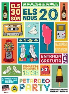 """Festa """"Els 30 són els nous 20""""."""