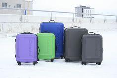 Upeat uudet värit loistavat Cavalet Malibu -matkalaukuissa! http://www.bebag.fi/malibu