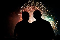 President Barack Obama and First Lady Michelle Obama watch the fireworks over the National Mall from the White House on July 4, 2009. by Pete Souza via timpanogos.wordpress.com  #Obamas #4th_of_July #Pete_Souza #tmpanogos_wordpress