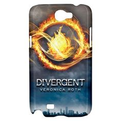 Veronica Roth Samsung Galaxy Note 2 Hardshell Case Cover - PDA Accessories