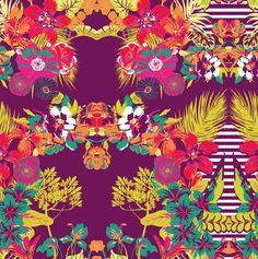 Tropical Navy - Lunelli Textil | www.lunelli.com.br