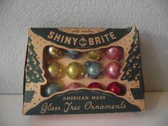 Box Miniature Shiny Brite