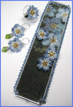 Bead Loom Patterns, Beaded Jewelry Patterns, Bracelet Patterns, Beading Patterns, Bead Loom Bracelets, Tear, Diy Schmuck, Seed Bead Jewelry, Beads And Wire