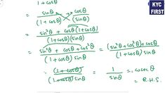 Algebra and Trigonometry | Sequences and Series Exercise 9.4 | KYC First