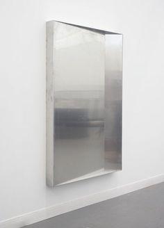 Marius Engh, Drain, 2012, welded aluminium, 150 x 100 x 11 cm.
