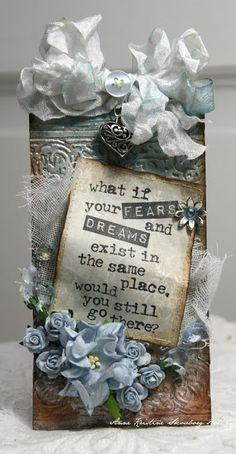 What if your fears and dreams exist in the same place, would you still go there?