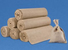"""OK people- this is the best bang for your buck when it comes to burlap. .great for weddings/parties on a budget. Look at the """"rolls"""" prices."""