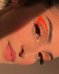 Cute Makeup Looks, Makeup Eye Looks, Eye Makeup Art, Colorful Eye Makeup, Pretty Makeup, Skin Makeup, Makeup Inspo, Makeup Inspiration, Makeup Ideas