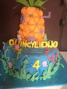 sabsy's cake dreams spongebob cake