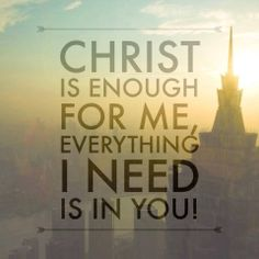 Christ is Enough (Hillsong United)