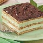 Pistachio Eclair Dessert  http://allrecipes.com/recipe/pistachio-eclair-dessert/