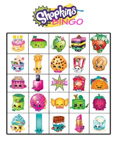 graphic relating to Shopkins Printable known as 351 Most straightforward Shopkins Printables visuals inside of 2018 Shopkins