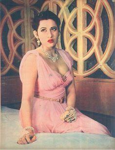 Madhubala in Filmfare of March 14th, 1958.: