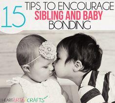 15 Tips To Encourage Sibling and Baby Bonding #Sibling #Bonding #Baby