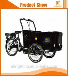 electric reverse trike folding bike family bike