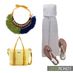 #BeachOutfits #Limeroad #StatmentNeckpeice Fashion Quotient | Indian Fashion and Style Blog | Indian Fashion Blogger